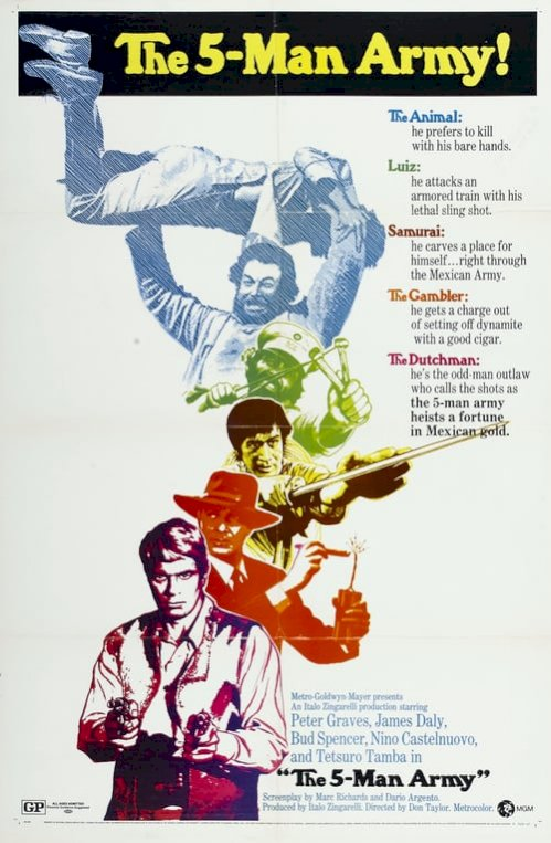 The Five Man Army (1969) online subtitrat